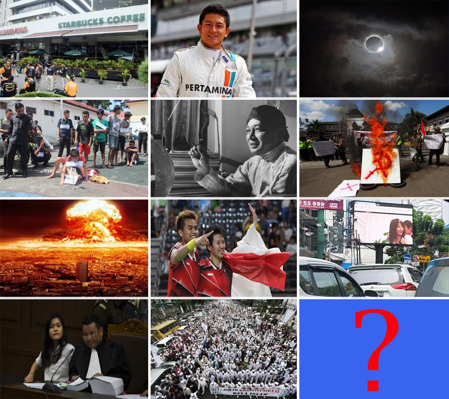 Kaleidoskop Indonesia : Berita Hangat Sepanjang Tahun 2016 terabru