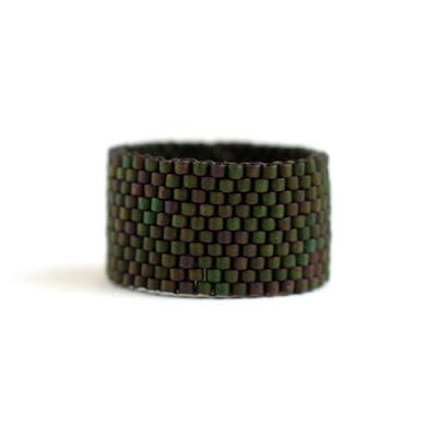 кольцо 22 размера мужское купить Широкое мужское кольцо. Стильное женское кольцо из бисера