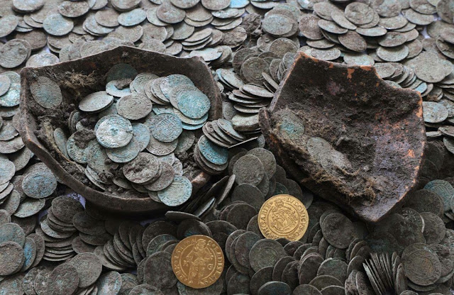 16th century coin hoard found in Slovakia