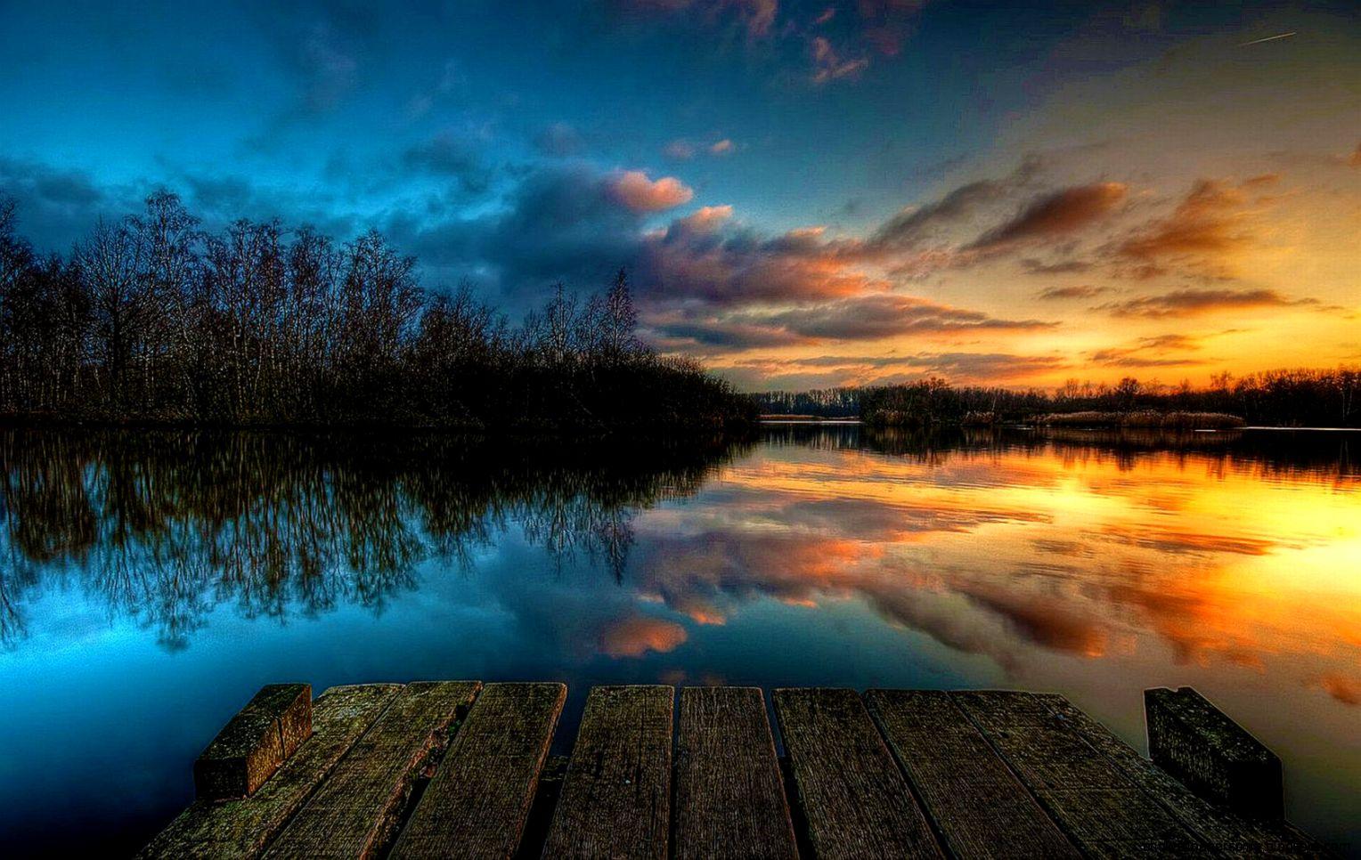 Sunset Wallpaper Hd | HD Wallpapers Plus