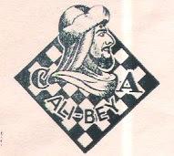 Escudo del Club Ajedrez Alí-Bey
