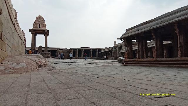 Hanuman Status and Halls for the Pilgrims - Lepakshi Temple, Anantapur, Andhra Pradesh