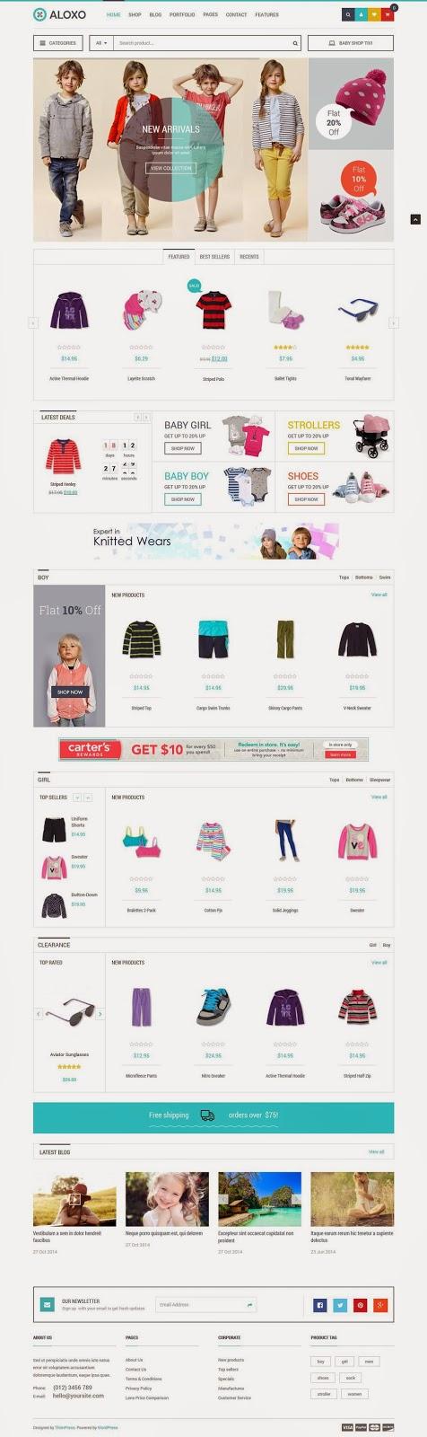Premium Responsive WooCommerce Theme 2015