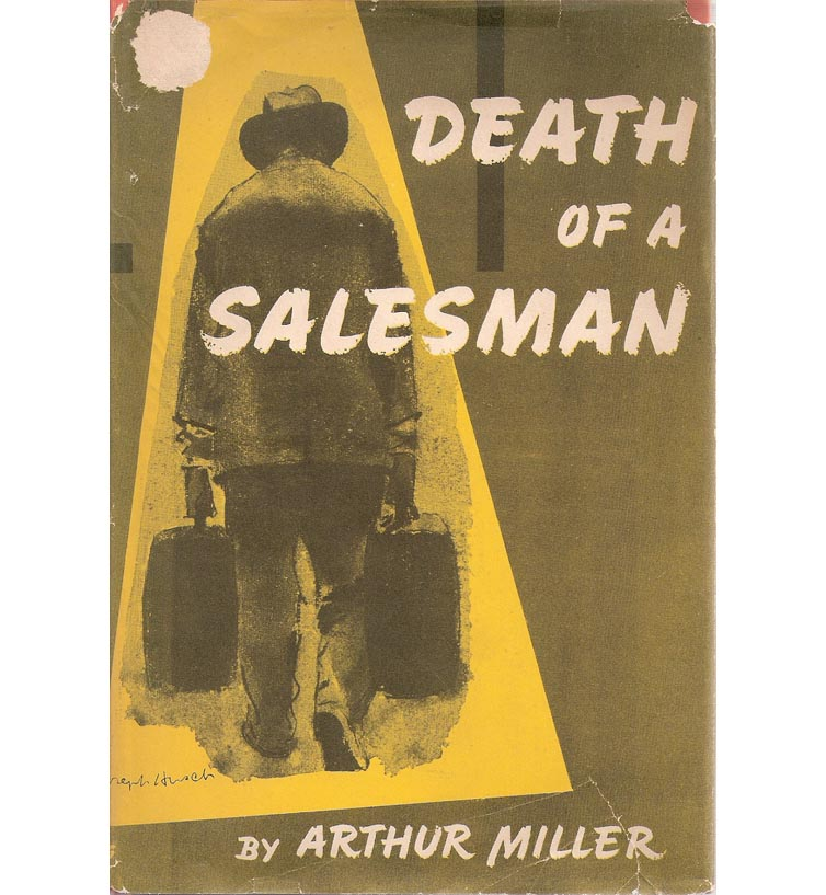 the depiction of willy loman in arthur millers the death of a salesman American literature  this paper is based on arthur millers death of the salesman and will  which examines the downfall of willy loman who is a salesman,.