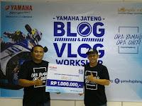 Yamaha Jateng Gelar Workshop Bagi Blogger & Vlogger