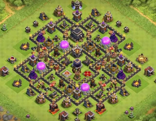 epic town hall 9 farming defense base