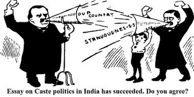 role of caste in indian politics class 10