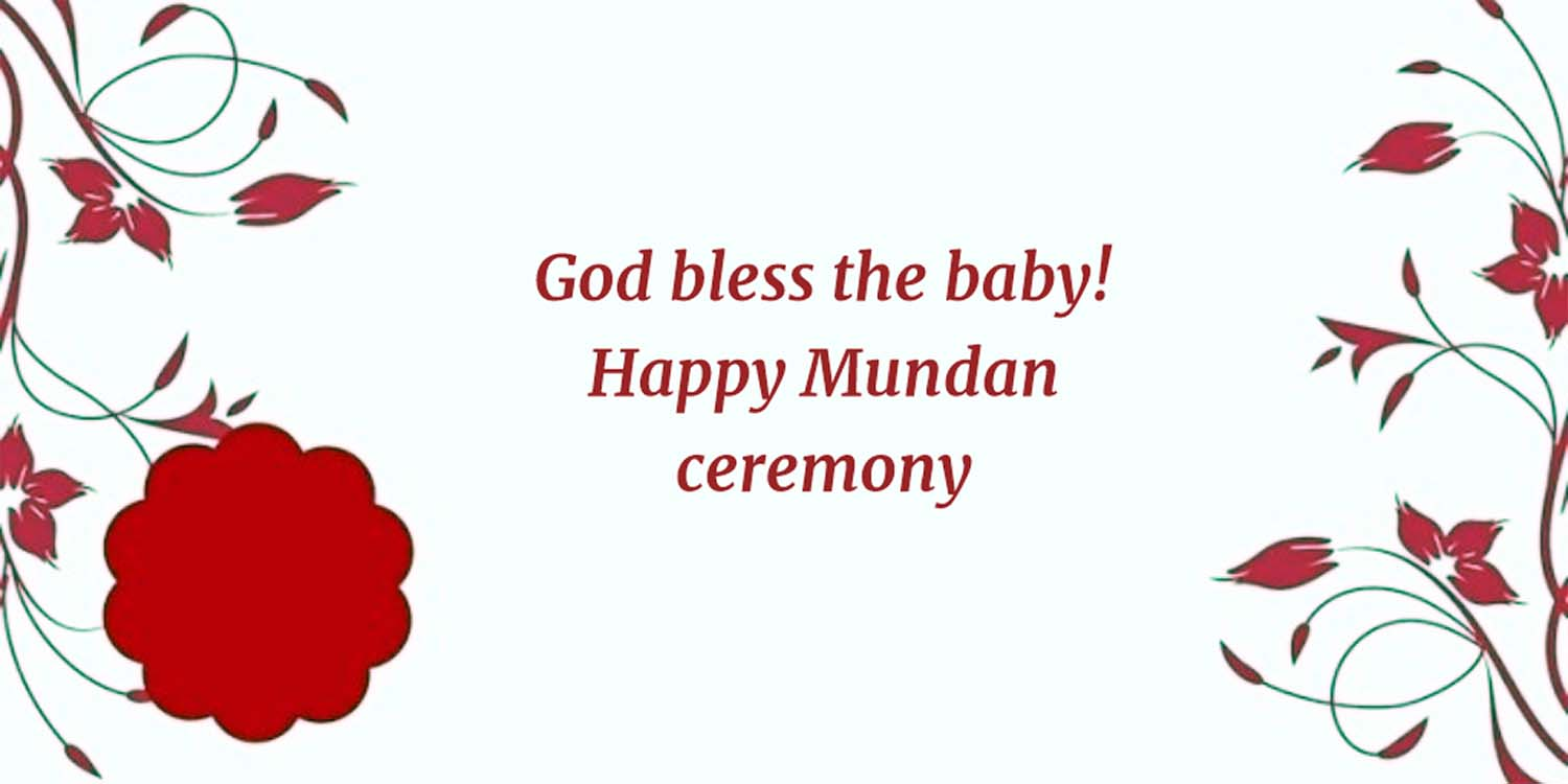 mundan ceremony quotes