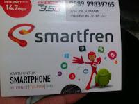 Kartu perdana smartfren