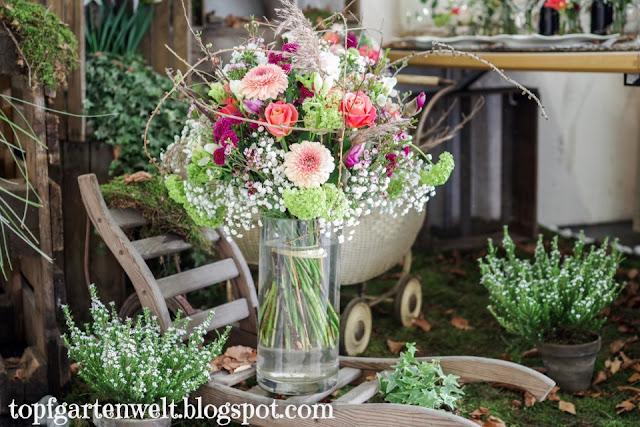 Gartenmesse Salzburg 2019 Hochzeitsfloristik - Gartenblog Topfgartenwelt