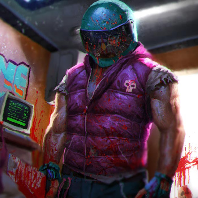 Prankcall - A Hotline Miami Themed Wallpaper Engine