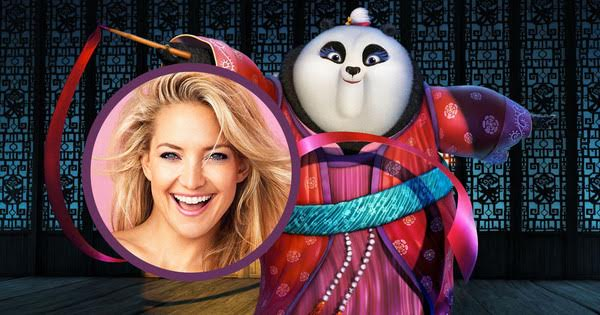 Interview with Kate Hudson in Kung Fu Panda 3  via  www.productreviewmom.com