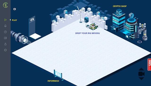 Game Simulasi Menambang Bitcoin