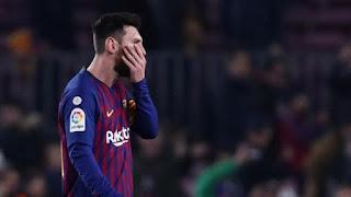 Rentetan Gol Lionel Messi Terhenti di El Clasico