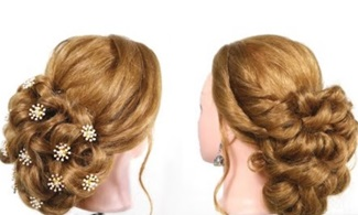 Easy bun hairstlyes for thin hair | wedding and party | Say Swag