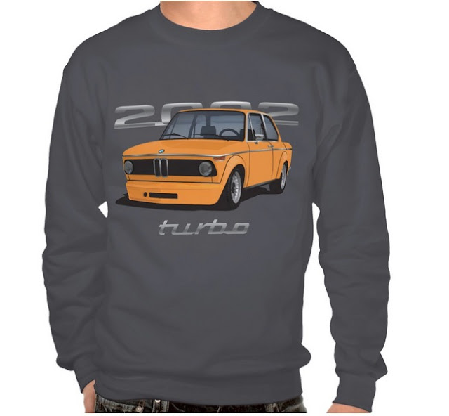 BMW 2002 turbo (e20) pitkähihainen paita