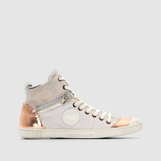 scarpe alte donna: il modello di Pataugas con dettagli e prezzo