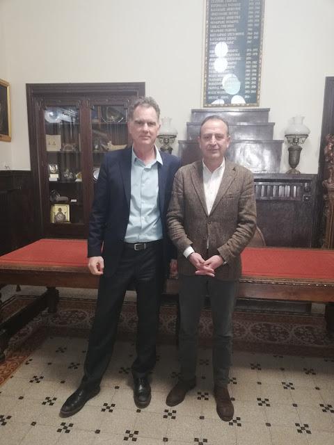 ΓΙΑΝΝΕΝΑ-Επίσκεψη Νίκου Παπανδρέου στο Δημαρχείο