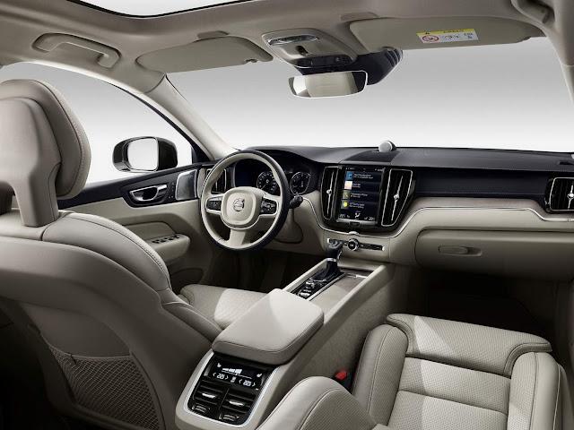 Novo Volvo XC60 2018 - interior