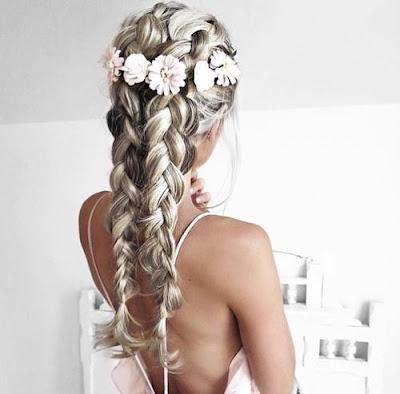 Modne fryzury damskie i upięcia włosów