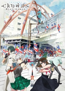 Lista de capitulos Gatchaman Crowds Insight