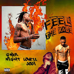 Lil Gnar - FeelTheRage (feat. Night Lovell & Joji) - Single Cover