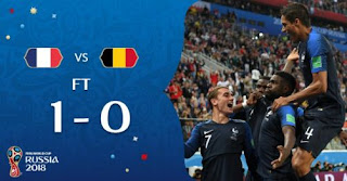 Prancis vs Belgia 1-0 Video Gol & Highlights