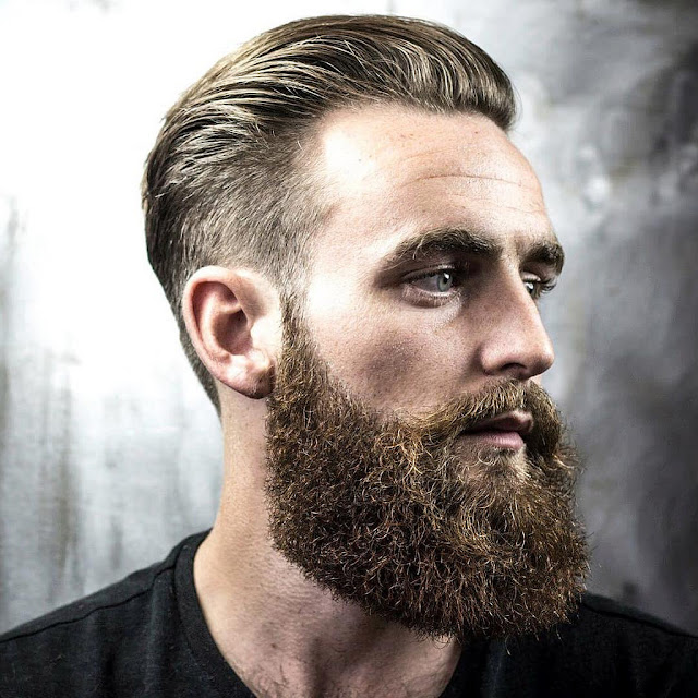 beard styles for men with round face
