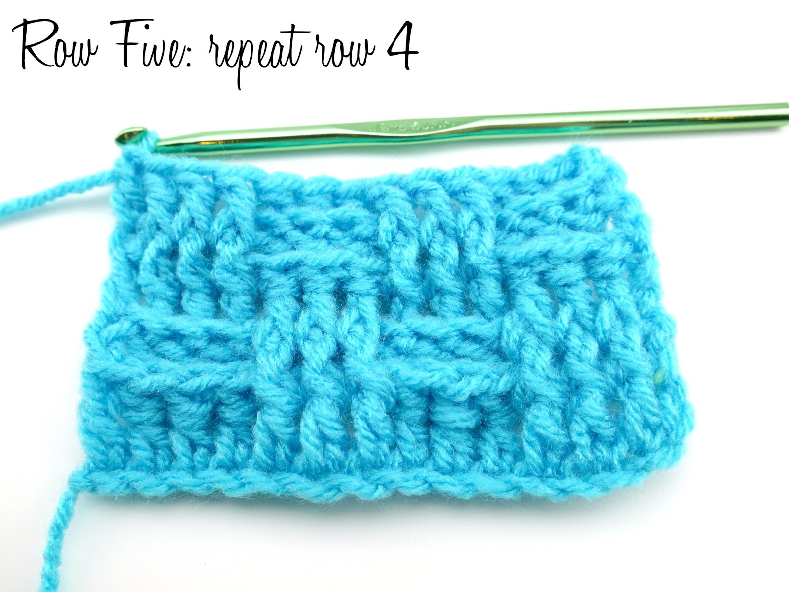 Links To More Than 10 000 Crochet Patterns And Pieces: Fiber Flux: How To Crochet The Basketweave Stitch