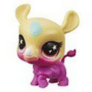 Littlest Pet Shop Series 5 Lucky Pets Glow-in-the-Dark Eyes Beachie (#No#) Pet