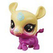 LPS Series 5 Lucky Pets Glow-in-the-Dark Eyes Beachie (#No#) Pet