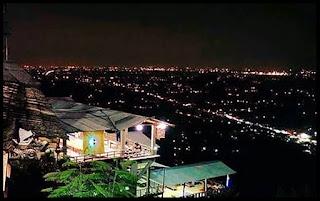 Indahnya Bukit Bintang Jogja saat Malam Hari