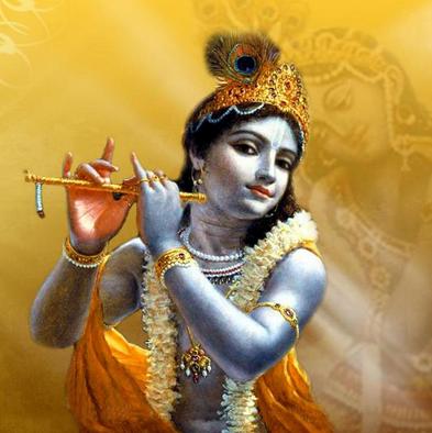 Si Krishna titisan dewa Wisnu