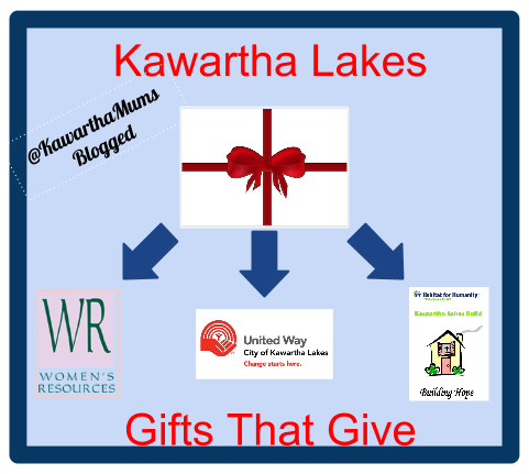 image Kawartha Lakes Gifts That Give Gift Guide -Womens Resources, United Way, Habitat for Humanity