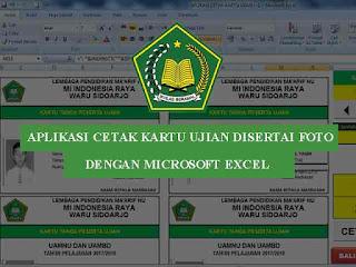 aplikasi cetak kartu ujian yang dilengkapi dengan foto Geveducation:  Aplikasi Cetak Kartu Ujian Disertai Foto dengan Micosoft Excel