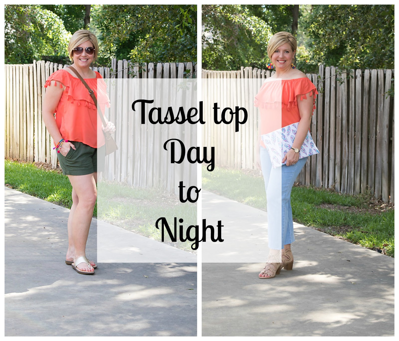 tassel top day to night