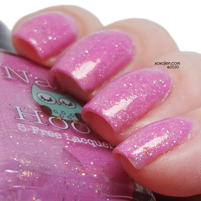xoxoJen's swatch of Nail Hoot Keep Calm and Fight On