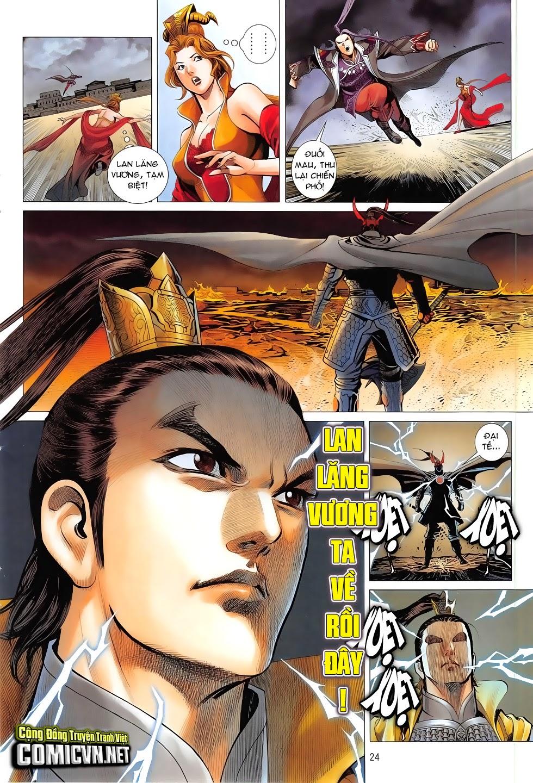 Chiến Phổ chapter 7: giết mi không chỉ mình ta trang 24