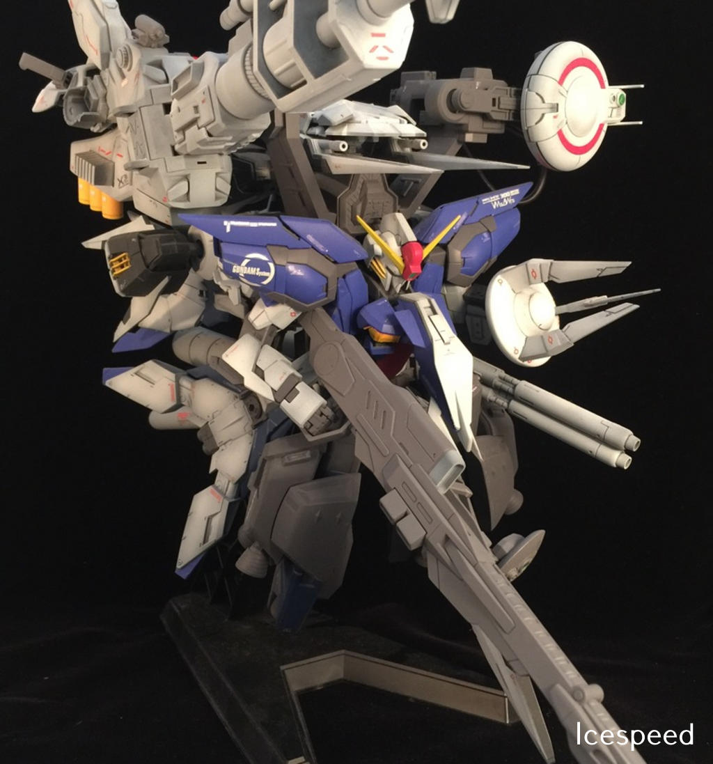 Custom Build: MG 1/100 Aegis Deep Striker