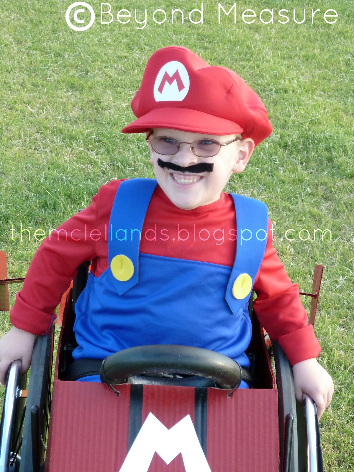 wheelchair mario emperor palpatine chair beyond measure and luigi take over halloween