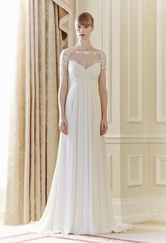 abito da sposa 2014 Jenny Packham e suggerimenti nozze a tema