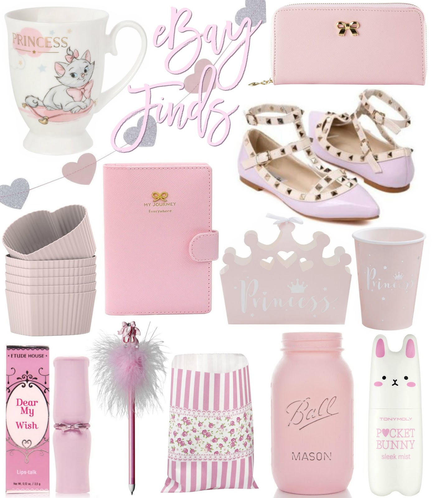 Love, Catherine | Pretty Pink eBay Finds
