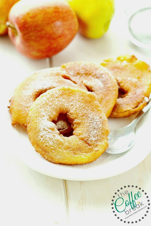 Apple Ring Fritters