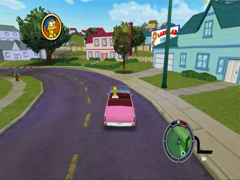 Free Download PC Games - The Simpsons Hit and Run …