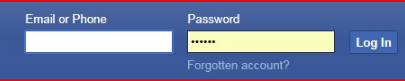Facebook Login in Sign Up or Learn More