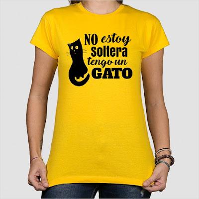 camisetas personalizadas originales gatos