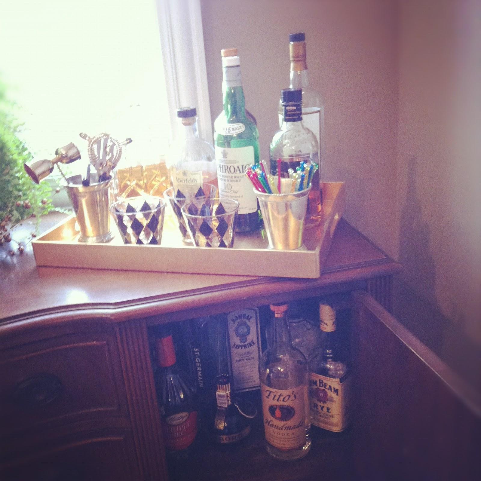 Retro Vintage Bar