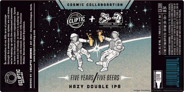 Ecliptic & Firestone Walker Collaborate On Hazy Double IPA