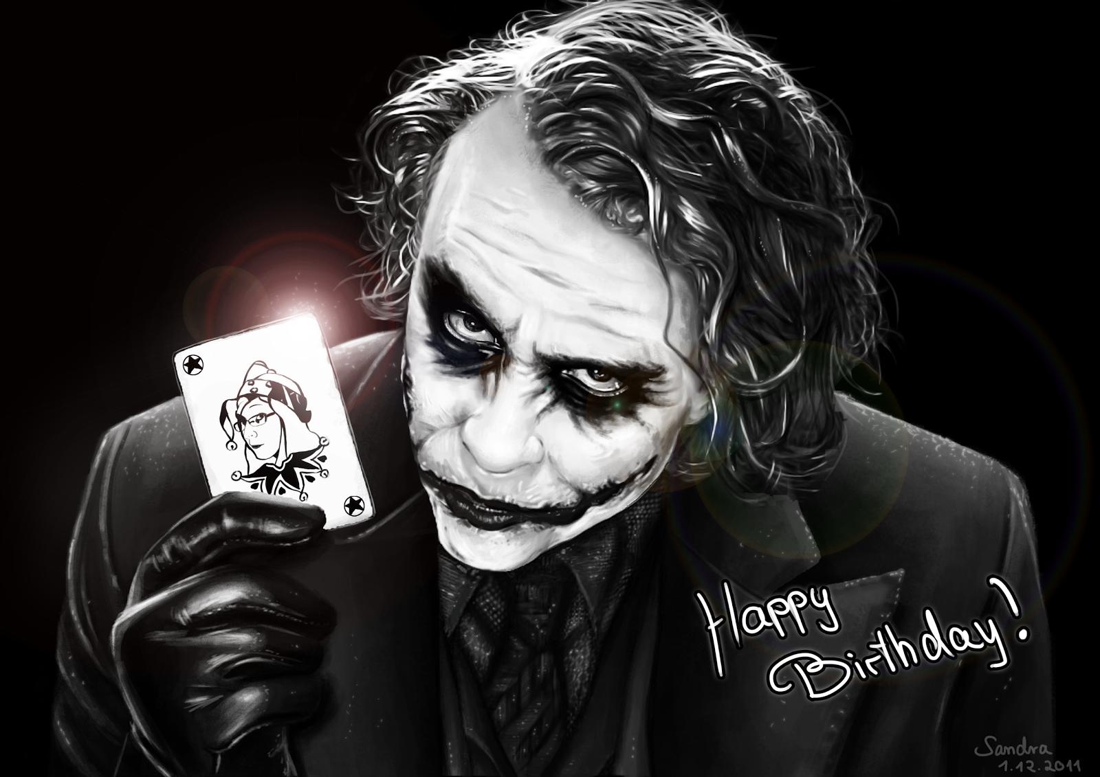 Поздравление джокера с днем рождения