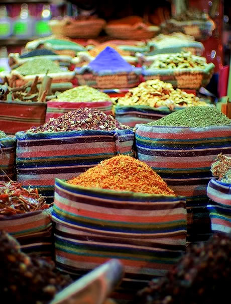 Spice market in Cairo, Egypt